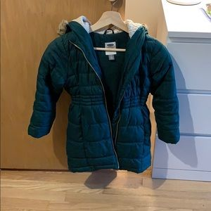 Old navy frost free puffer coat girls S